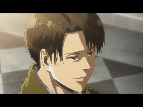 Levi smiles! | Attack on Titan Season 3 Episode 10
