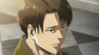 Levi smiles! | Attack on Titan Season 3 Episode 10