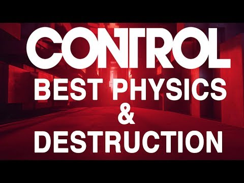 [4K] CONTROL - The Best Physics And Destruction In A Video Game