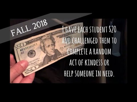 Elvis Duran - Feel Goods: Students Amaze Teacher With $20