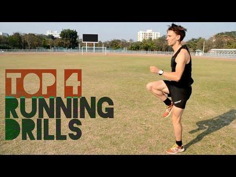 Top 4 Running Drills: Improve Form & Run Faster