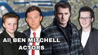 All Different Ben Mitchell Actors Scenes (Eastenders)