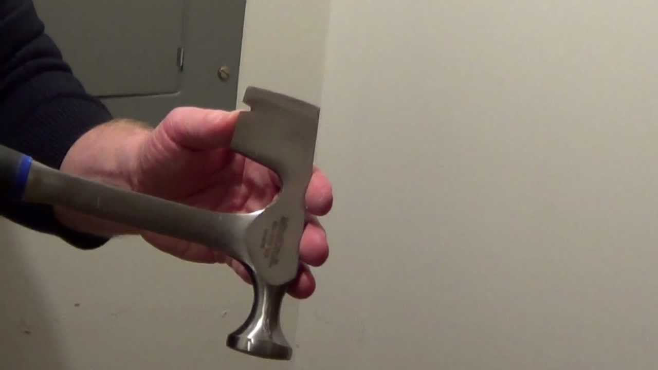 Drywall Hammer - Drywall Hatchet - Tools For The Home