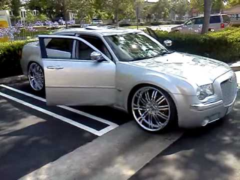 300c Lowered On 24s Youtube