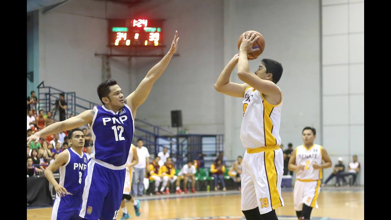 Kenneth Duremdes Kenneth Duremdes buzzerbeater shot lifts Senate Defenders over PNP