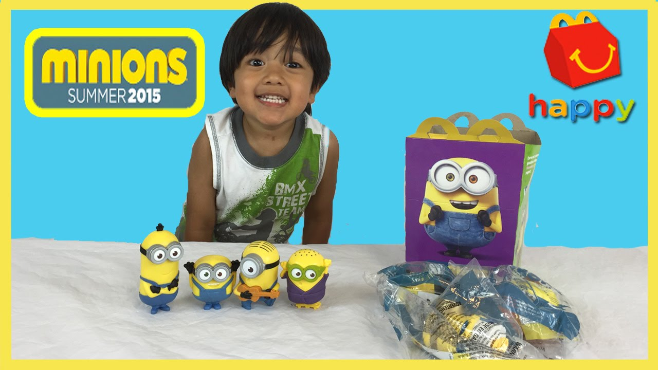 plays with minions mcdonalds happy meal toys