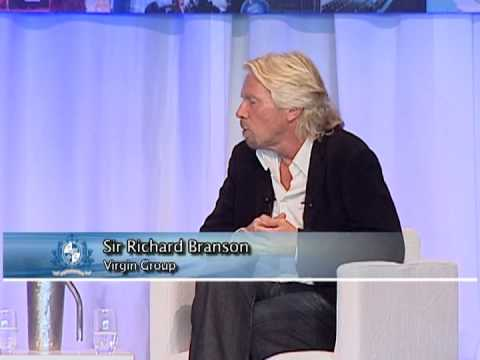 Sir Richard Branson speaks to members of The Vancouver Board of Trade
