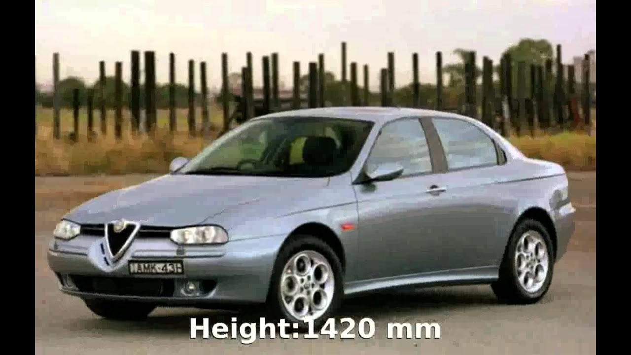 2000 alfa romeo 156 sportwagon 1 9 jtd features youtube. Black Bedroom Furniture Sets. Home Design Ideas