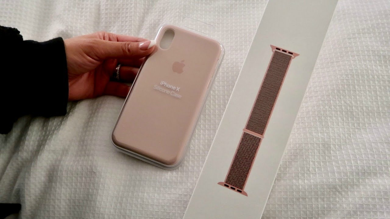 size 40 fc5b6 29d71 New Apple Watch Sport Loop & iPhone X Silicone Case Unboxing
