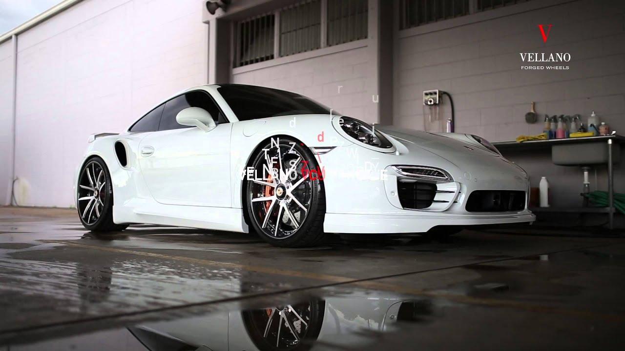 0004 Porsche 911 Turbo S 0n Vcu 21 Quot Concave Youtube