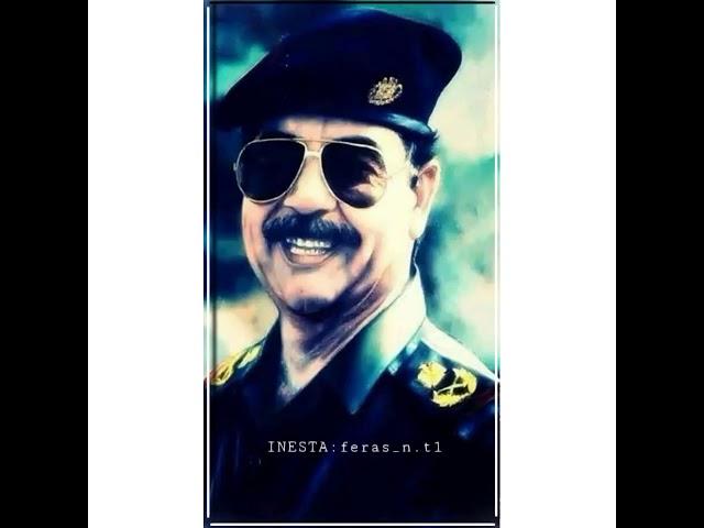 حالات واتس اب صدام حسين أغنية شهيدنا زادك الرحمن تصاميم كيوت كت????نرجو دعم القناة????