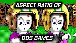 DOS Gaming Aspect Ratio - 320x200