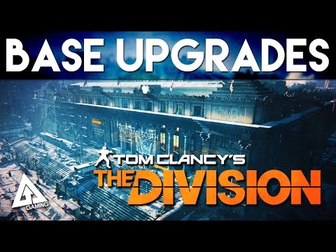 The Division - Upgrading Bases