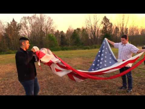 Burning The American Flag In A Respectful Way