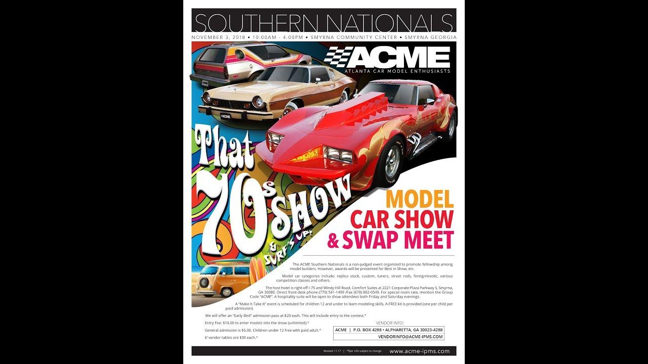 2018 ACME NNL Southern Nationals Model Car Show