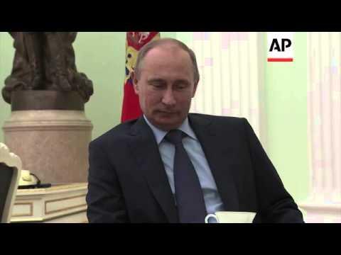 Tokyo envoy Mori meets President Putin to prepare for PM Abe's visit