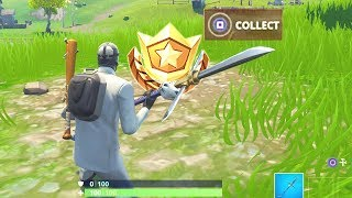 """""""Search Between a Covered Bridge, Waterfall and The 9th Green"""" Location Fortnite Week 10 Season 5!"""