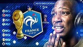VOICI LE RESULTAT DE LA COUPE DU MONDE D'APRES FIFA... LA FRANCE FINIT...