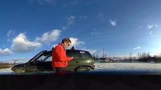 тестовое видео с камеры Sjcam Sj360
