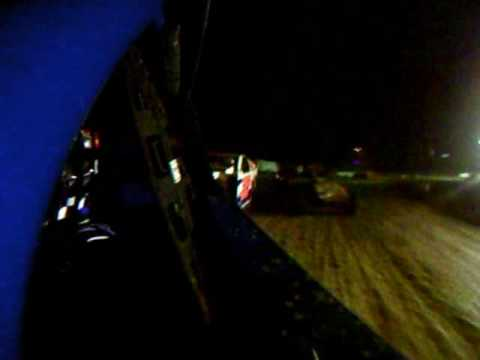 7 18 2009 Grayson County Speedway IMCA SportMod Feature - Brian Parks