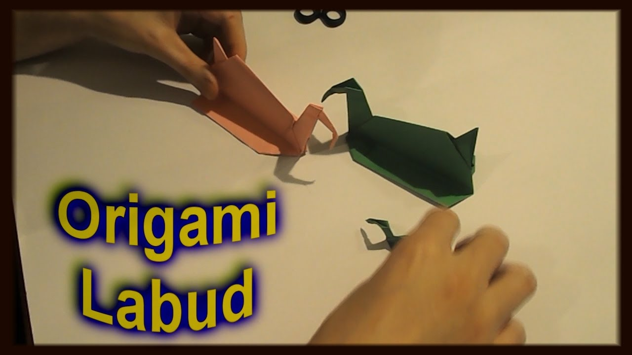 origami labud od papira how to make a paper swan youtube