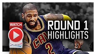 Kyrie Irving Round 1 Offense Highlights VS Pacers 2017 Playoffs - Sweet Handles!