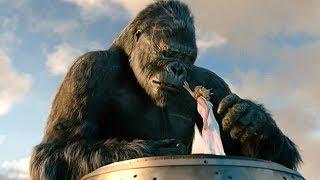 Death of Kong Scene - King Kong (2005) Movie CLIP [1080p HD]