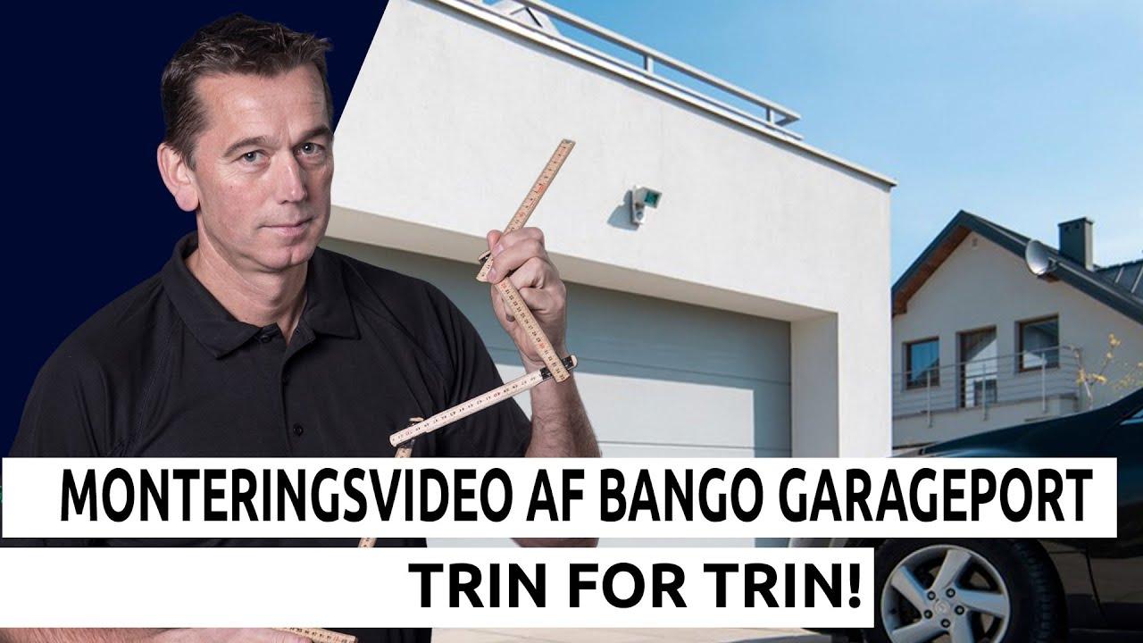 Rørig Bango garageport - montering af port - YouTube QG-58