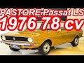 PASTORE Volkswagen Passat LS 1976 aro 13 FWD MT4 1.5 78 cv 11,5 mkgf 150 kmh 0-100 kmh 15,3 s