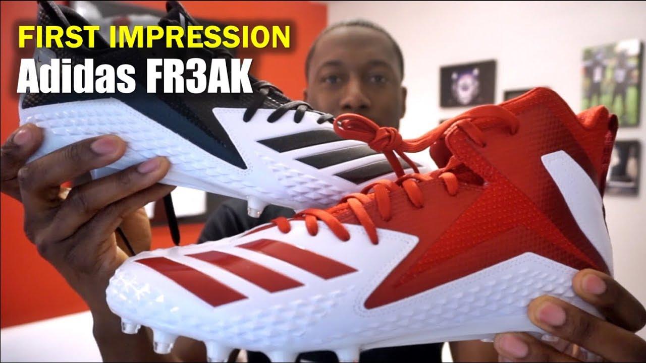 3d2377ca51b4 ADIDAS Freak Football Cleats: 1st Impression - YouTube