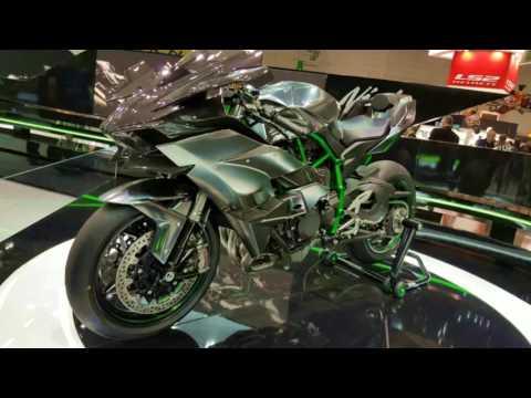 Intermot 2016 : Kawasaki Ninja H2