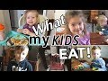 WHAT MY KIDS EAT IN A DAY!