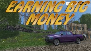 How To EARN BIG MONEY in Farming Simulator 2015 | PS4 | PS3 | XBOX 360 | XBOX ONE