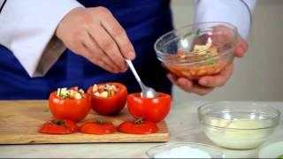 """Рецепт """"запеченные помидоры с моцареллой"""""""
