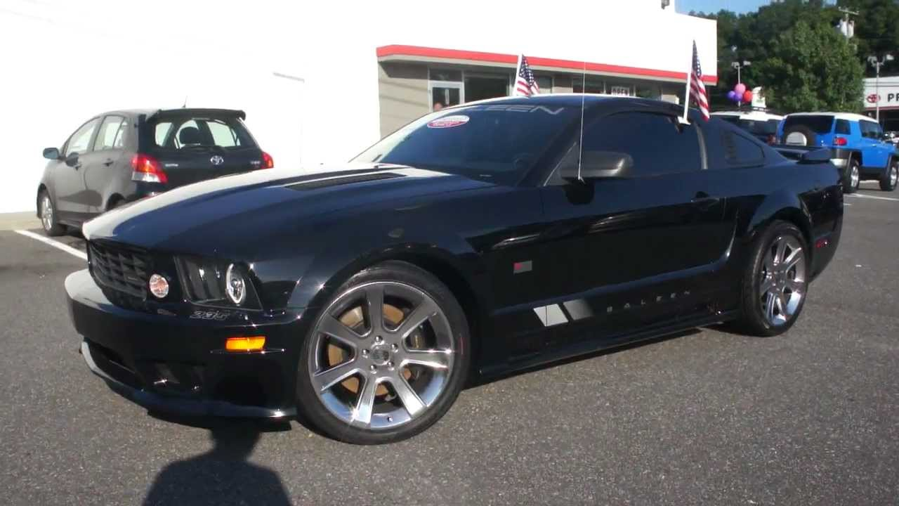 2007 ford mustang saleen 281 for salesuper chargedbeautiful condition youtube