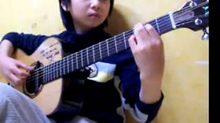 Gilbert O'sullivan) Alone Again, Naturally   Sungha Jung Acoustic Tabs Guitar Pro 6
