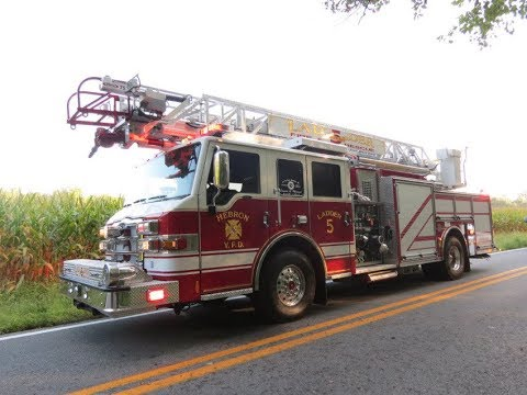 Industrial Accident and EMS call for Hebron FD