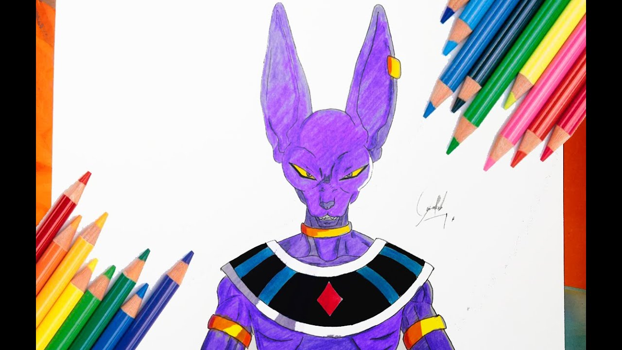 How To Draw God Of Destruction
