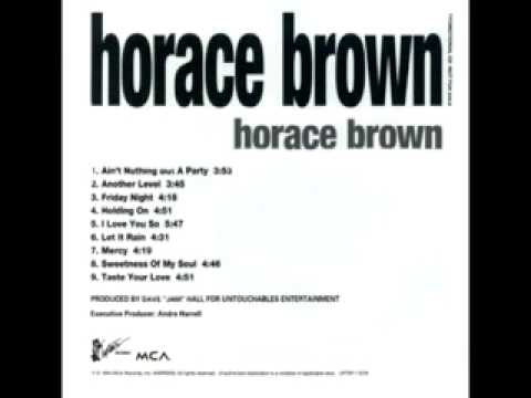 """Horace Brown - """"HOLDING ON"""" (1994)"""