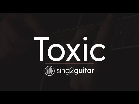 Toxic (Acoustic Guitar Karaoke) Melanie Martinez