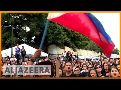 ?? Philippines protesters mark 32nd anniversary of People Power