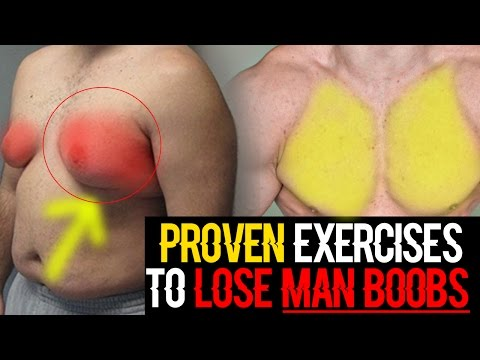 How To Lose Chest Fat Fast At Home | Get Rid Of Man Boobs (EXERCISES & DIET)