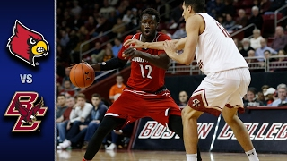 Louisville vs. Boston College Men's Basketball Highlights (2016-17)