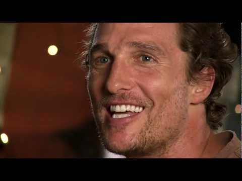 Matthew McConaughey discussing Coach Dale Brown