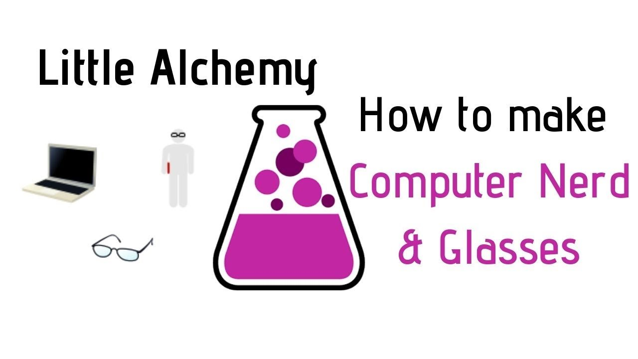 Little Alchemy How To Make Computer Nerd Glasses Cheats Hints Youtube