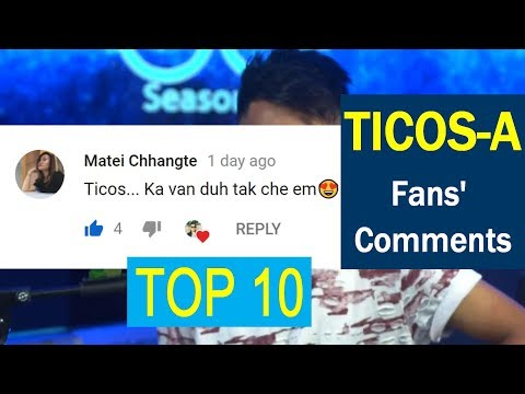 TICOS DARHMINGLIANA - FANS COMMENTS AND REACTIONS | MIZO IDOL TOP 10