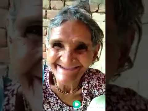 Shocking Word from old women. Funny whatsapp video. old women speaking english