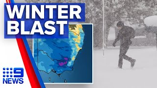 Australia's South Facing Coldest April Day In 20 Years | Nine News Australia
