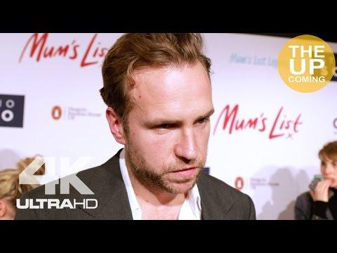 Mum's List premiere: Rafe Spall interview in London