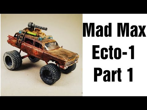 Mad Max Ecto-1 Build - Part 1